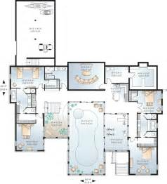 Awesome House Blueprints Awesome House Plans With Pools 8 House Floor Plans With