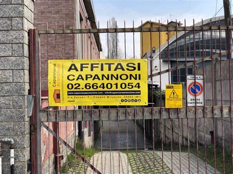 capannone in affitto affitto capannone a cusano milanino ref cap019