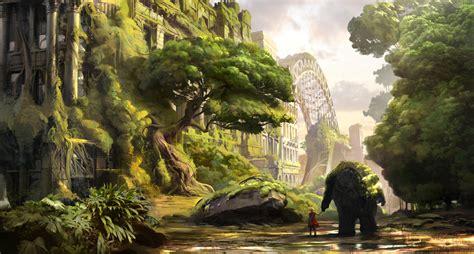 game design newcastle atomhawk design takes us inside the realm concept art world