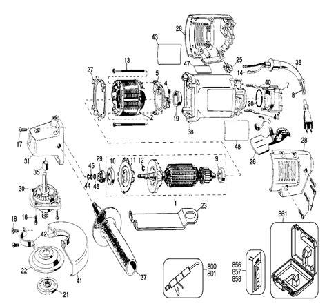 dewalt bench grinder parts de walt grinder parts diagram makita grinder parts