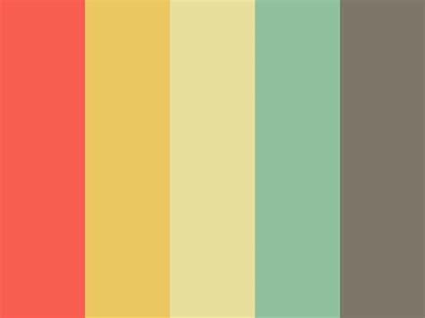 colors palette bright retro color palette 시도해 볼 프로젝트 pinterest