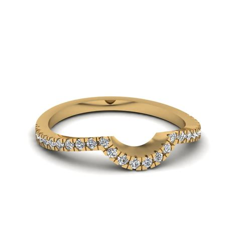 Wedding Bands Curved by Curved Wedding Bands Fascinating Diamonds