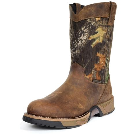 mens wellington boots s rocky 174 9 quot aztec wellington boots mossy oak 174