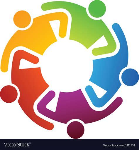 teamwork images teamwork logo royalty free vector image vectorstock