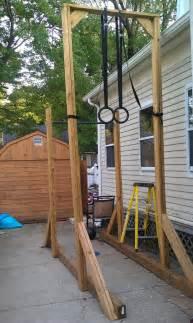 backyard pull up bar ring set could add a 15 rope climb - Backyard Pull Up Bar