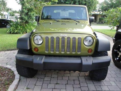 2008 Jeep Wrangler Lift Kit Sell Used 2008 Jeep Wrangler X Sport Utility 2 Door 3 8l