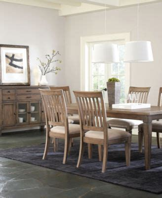 Scottsdale Dining Room Table Furniture Macy S Scottsdale Dining Table