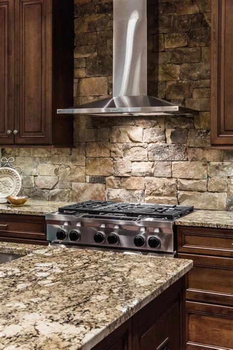 rock kitchen backsplash photo page hgtv