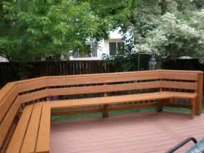 bench railing deck storage bench ideas diy building patio design