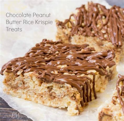 peanut butter rice krispie bars with chocolate topping chocolate peanut butter rice krispie treats 187 call me pmc