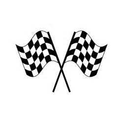 crossed checkered flags clip art clipart best