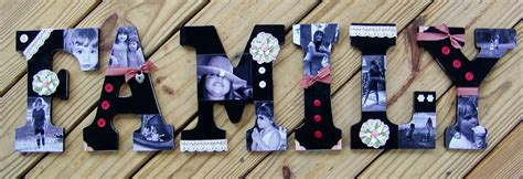 How To Decoupage Wooden Letters - stuckonusketches decoupaged wooden letters tutorial 6 17