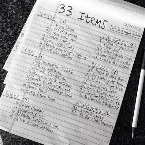 Project 333 Wardrobe List by Best 25 Project 333 Ideas On