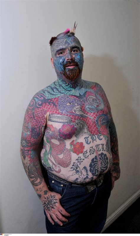 most tattooed man britain s most tattooed with kyle show inked
