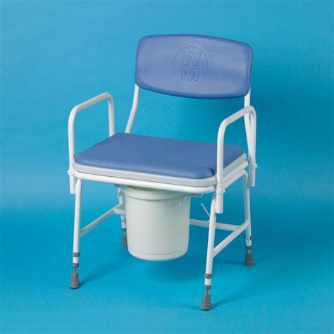 heavy duty commode chair sports supports mobility
