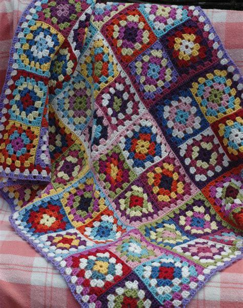 serendipity patch crochet blankets