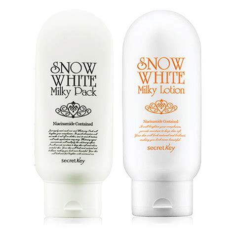 Secret Key Snow White Pack Limited korean cosmetics secret key 1 1 snow white pack 200ml snow white lotion 120g skin