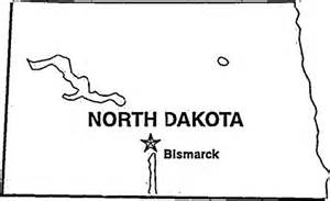 state of north dakota coloring page supercoloring com