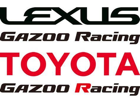 lexus racing logo lexus gazoo racing and toyota gazoo racing logos toyota