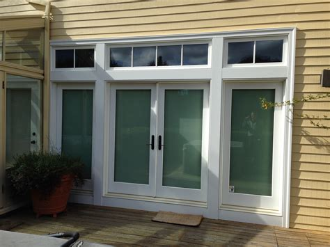 Inswing Awning Windows by Marvin Clad Inswing Door Ot Glass