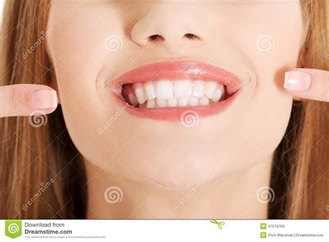 showing teeth portrait of showing teeth stock photo image 47078769
