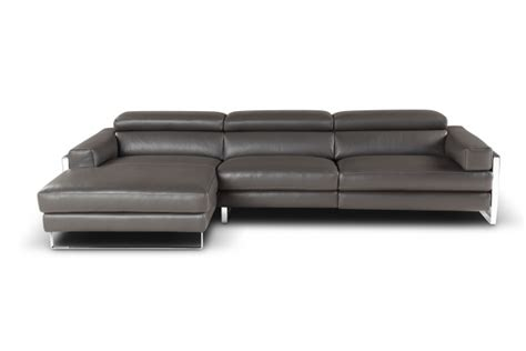 Low Profile Leather Sofa Modern Chaise Sofa With Black Wooden Furniture White Leather Low Profile Sectional Chaise Lounge