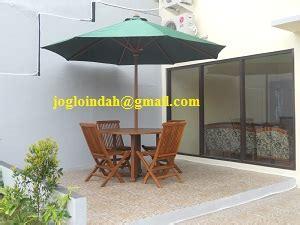 Indomaret Payung Lipat set meja payung untuk teras rukan di cisalak depok joglo