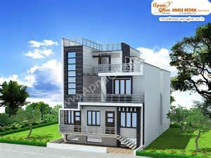 create house triplex house exterior elevation triplex house exterior