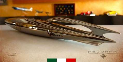 pecorari modena rocket ship stationary vrossa by pecorari modena