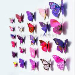 3d butterfly stickers for walls 12pcs 3d butterfly sticker art wall mural door decals home