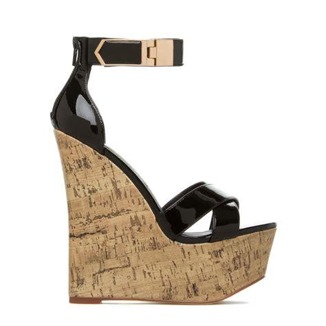 cheap black wedge heels fs heel