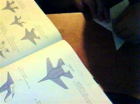 Origami F 14 - how to make an origami f 14 tomcat