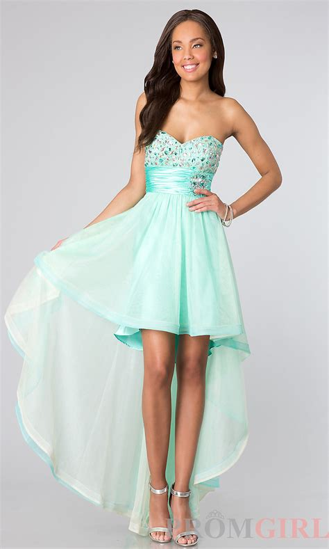8 Prom Dresses by Strapless High Low Dresses Strapless Junior Prom Dress