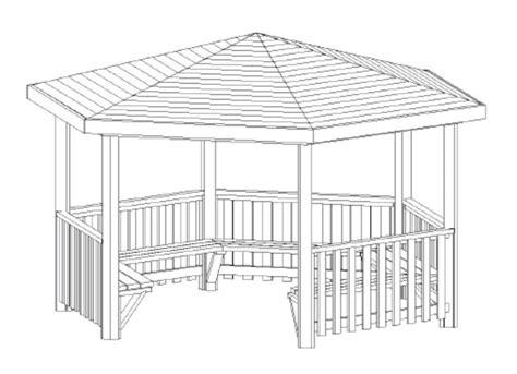 gazebo hexagonal hexagonal gazebo ideal for smaller schools cabinco