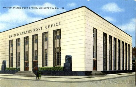 United Post Office by United States Post Office Johnstown Pa