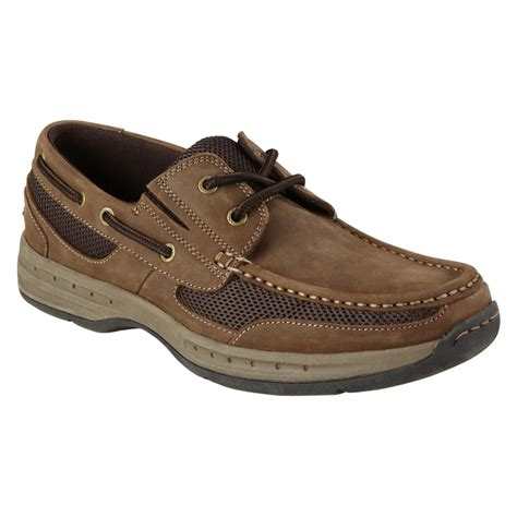 thom mcan s boatswain casual boat shoe brown