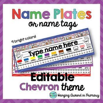 student desk plates 25 best ideas about chevron name tags on chevron school school name tags and owl