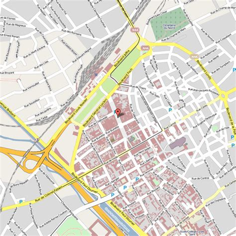map reims reims map and reims satellite image