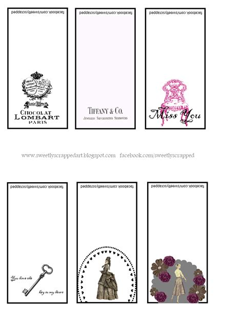 printable small note cards sweetly scrapped free mini notecards printables