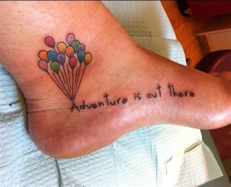 adventure is out there tattoo quotes from the up adventure is out there quotesgram