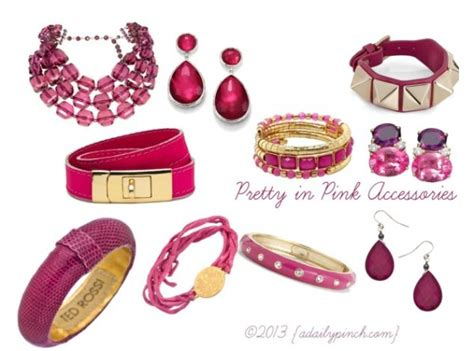 i accessories pretty in pink fashion accessories a daily pinch