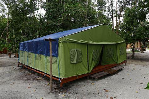 Obat Nyamuk Pasir Elektrik sehari di pulau leebong tak cukup coba deh penginapan ini