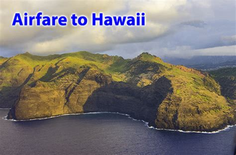 how to find cheap airfare to hawaii air to hawaii