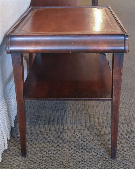 leather accent table leather top accent table new england home furniture consignment