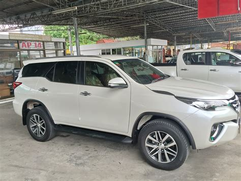 Toyota Address Change Toyota Fortuner 2016 4x4 Thailand Exporter