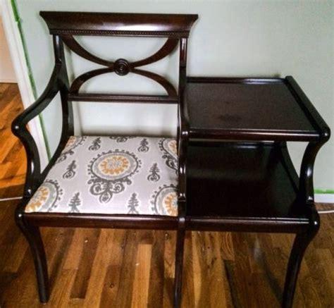vintage gossip bench best 20 telephone table ideas on pinterest retro furniture midcentury love seats