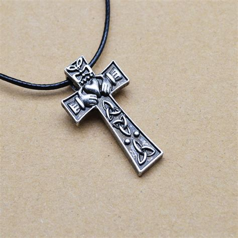 claddagh cross necklace promotion shop for promotional