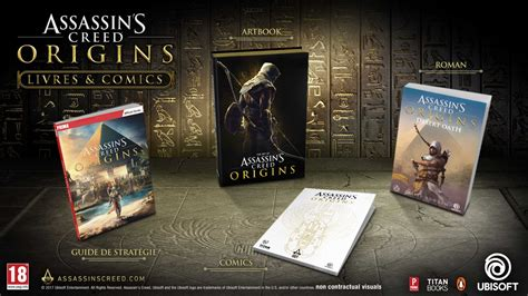 libro desert oath the official livres assassin s creed origins se d 233 cline dans 4 ouvrages gouaig fr