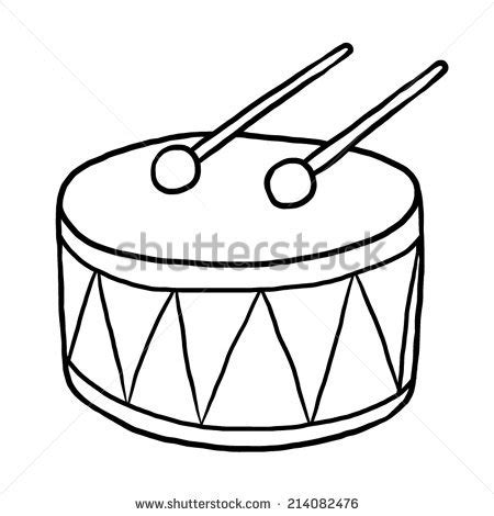 Drums Drawing