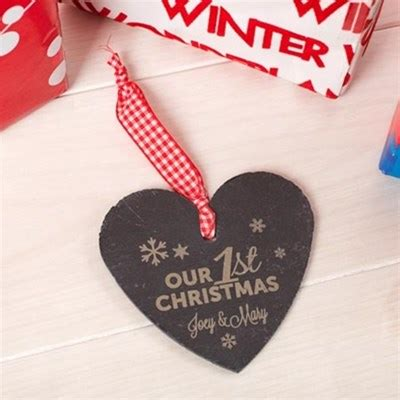 personalised scented candle first christmas together
